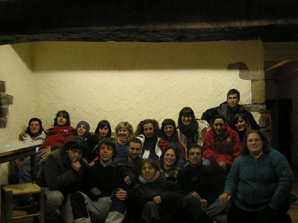 Curs de monitor de Sant Hip�lit. Setmana santa del 2008.