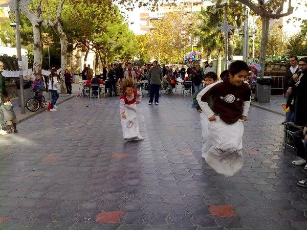 Jocs de cucanya a Castelldefels